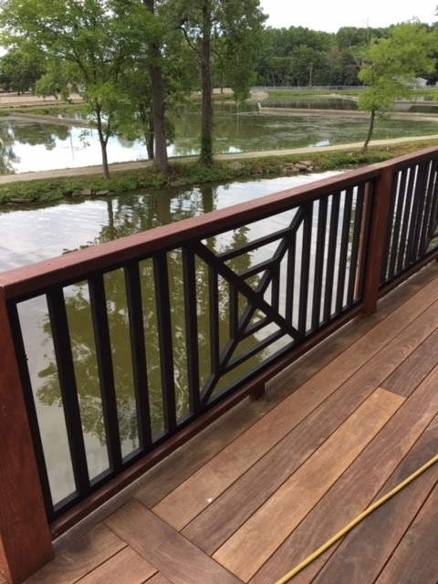 PVC Railing Panels and Pickets