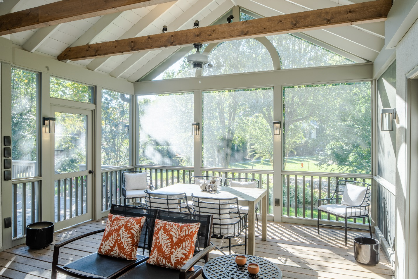 Nashville TN screened porch design by The Porch Company