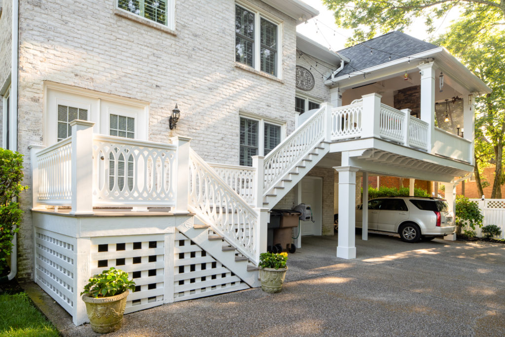 TimberTech Premier Railing with PorchCo Infill Panels