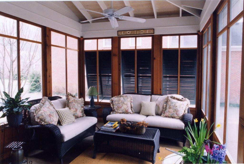 2000 Regional Chrysalis Award Winning Porch/Sunroom