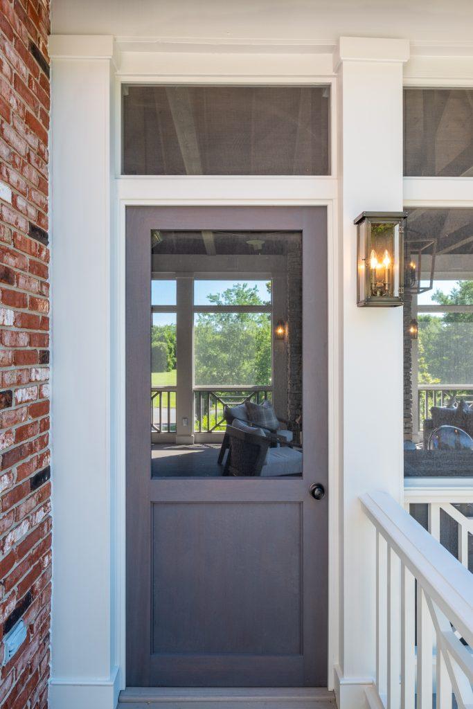 Porch company Sapele wooden door